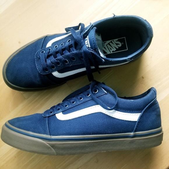 Vans Old Skool Navy Blue Gum Sole
